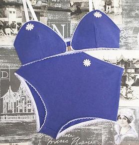 Sharon bralette Rita set in seaside blue