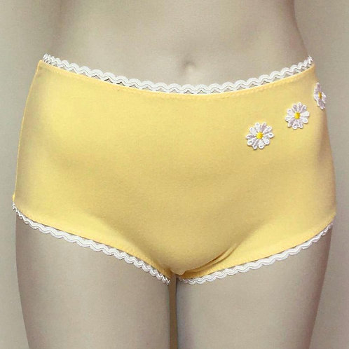 Marilyn h.w. panties in buttercup yellow