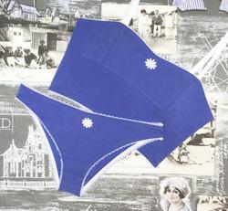 Rita LL bralette & Dee Dee panties in seaside blue