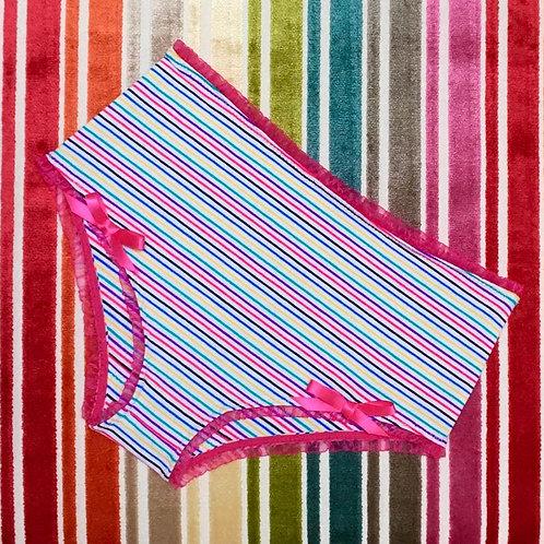 Gidget in multi stripe
