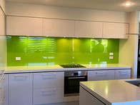 "Bright Lime Green - Resene ""Limerick""."