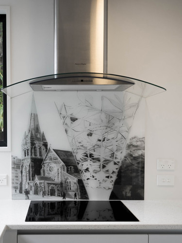Christchurch Cathedral Challice SplashBack.