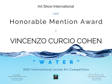 """ART SHOW INTERNATIONAL """"Waters"""" Art Competition"""
