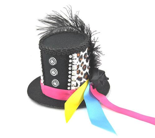 Ribbon Mini Top Hat