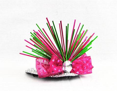 Bursting Pink Mini Hat