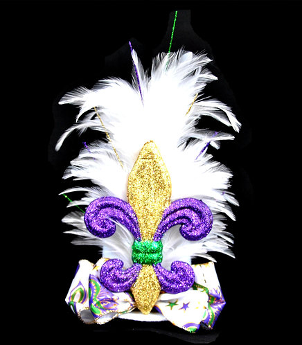 MG Top Hat - Royal Fleur