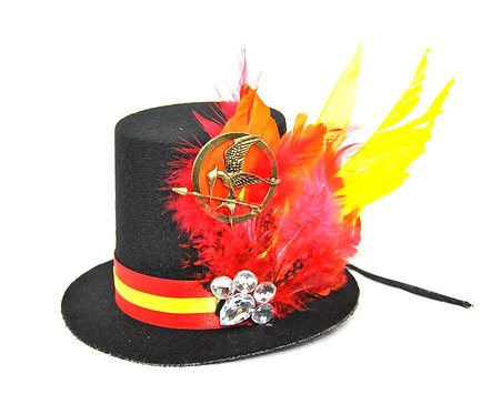 Hunger Games Inspired Mini Top Hat