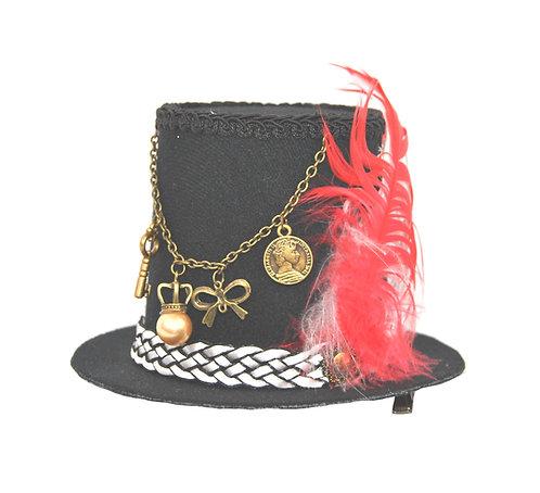Vieux Accent Mini Top Hat