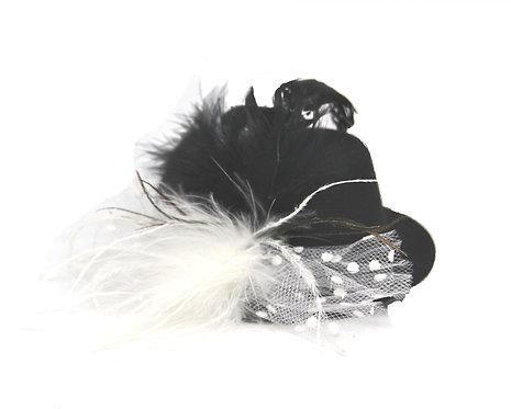 "Burlesque 5"" Mini Hat - Multiple Colors"