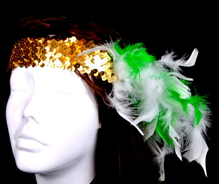 St. Pats Sequin Headband