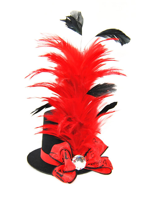 Georgia Themed Mini Top Hat