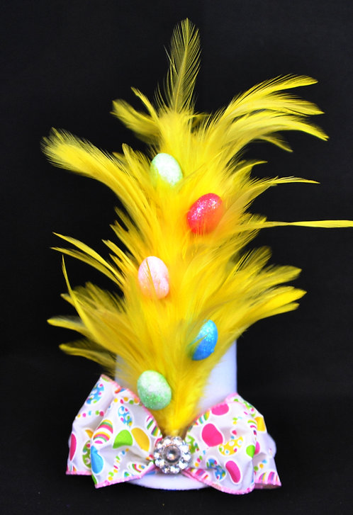 Blooming Eggs Mini Top Hat