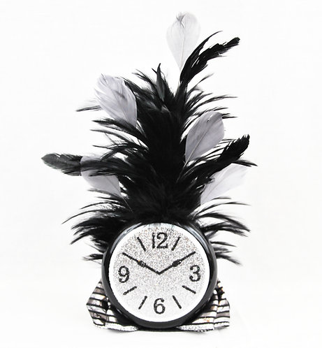 New Years Time Clock Mini Top Hat