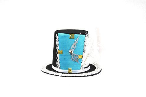 Wonderland Inspired Timeclock Mini Top Hat