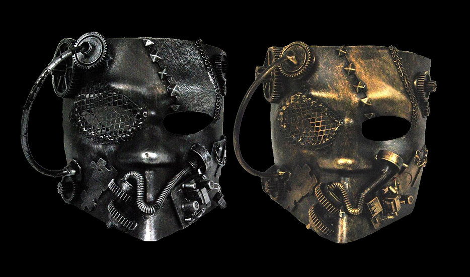 Large Steampunk Mask
