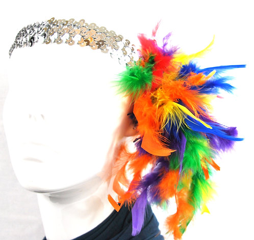 Rainbow Sequin Headband