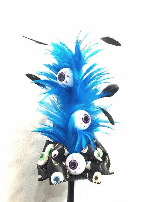 Blue Eyes Mini Top Hat