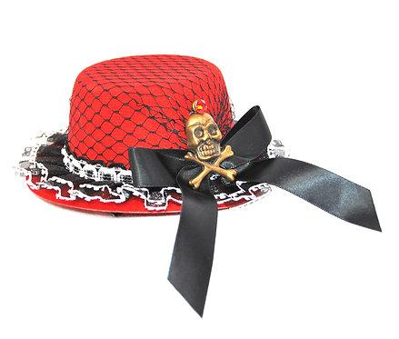 Skull Mini Hat