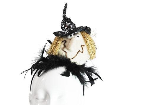 Smiling Witch Headband