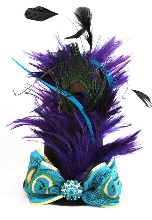Peacock Blitz Mini Top Hat
