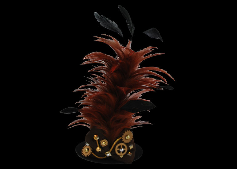 Gear Mini Feathered Top Hat