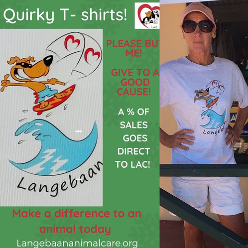 T-shirts - kite surfing design for a good cause!