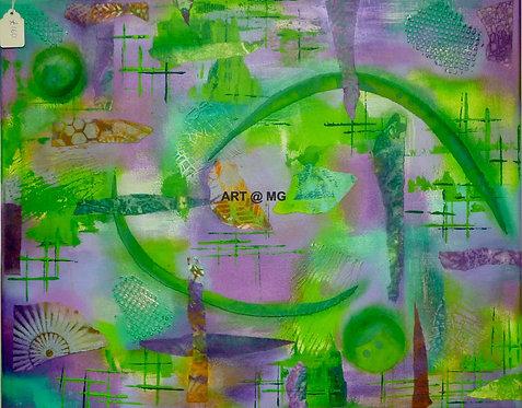 Abstract (7) by Maureen Masterman.