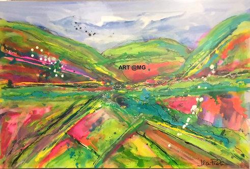 Landscape by Jean Picton
