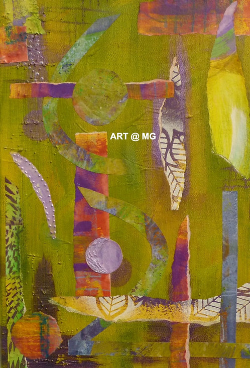 Abstract (4) by Maureen Masterman.