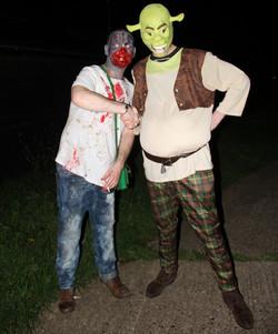 Shrek and Louie