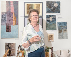 Jenny Leslie:  Textile artist