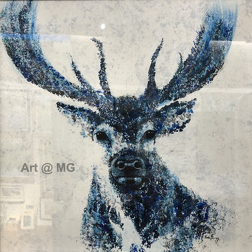 Stag's Head by Sally Turner