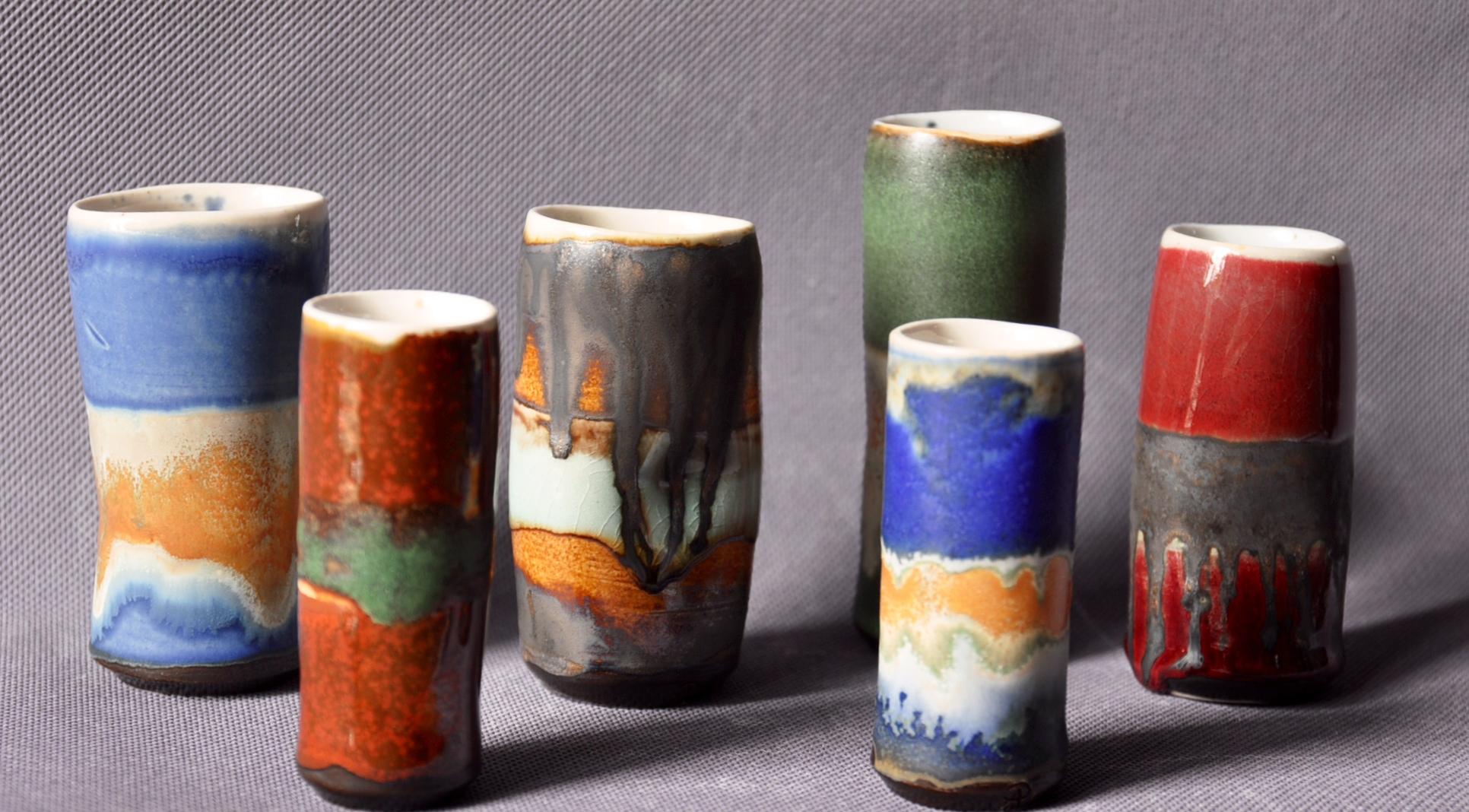 stem Vases.