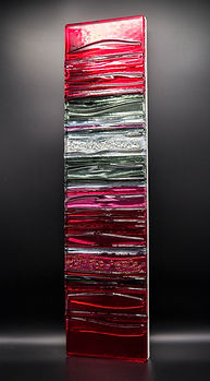 PINK IN GREY Sculptural glass Panel.jpg