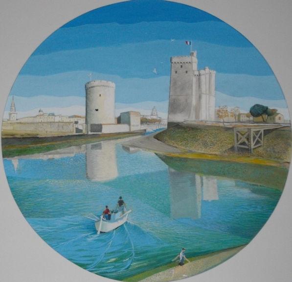 Entrance to the Port - La Rochelle (800x