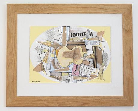 Braque Guitar by Martin Langston