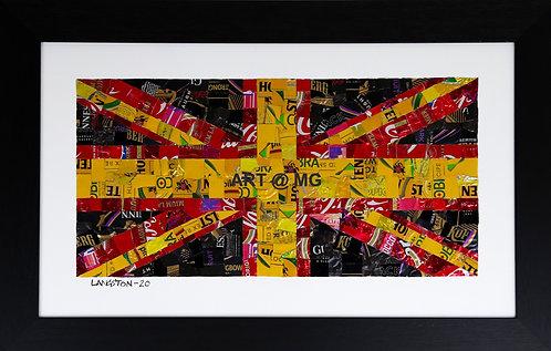 Watford Flag by Martin Langston