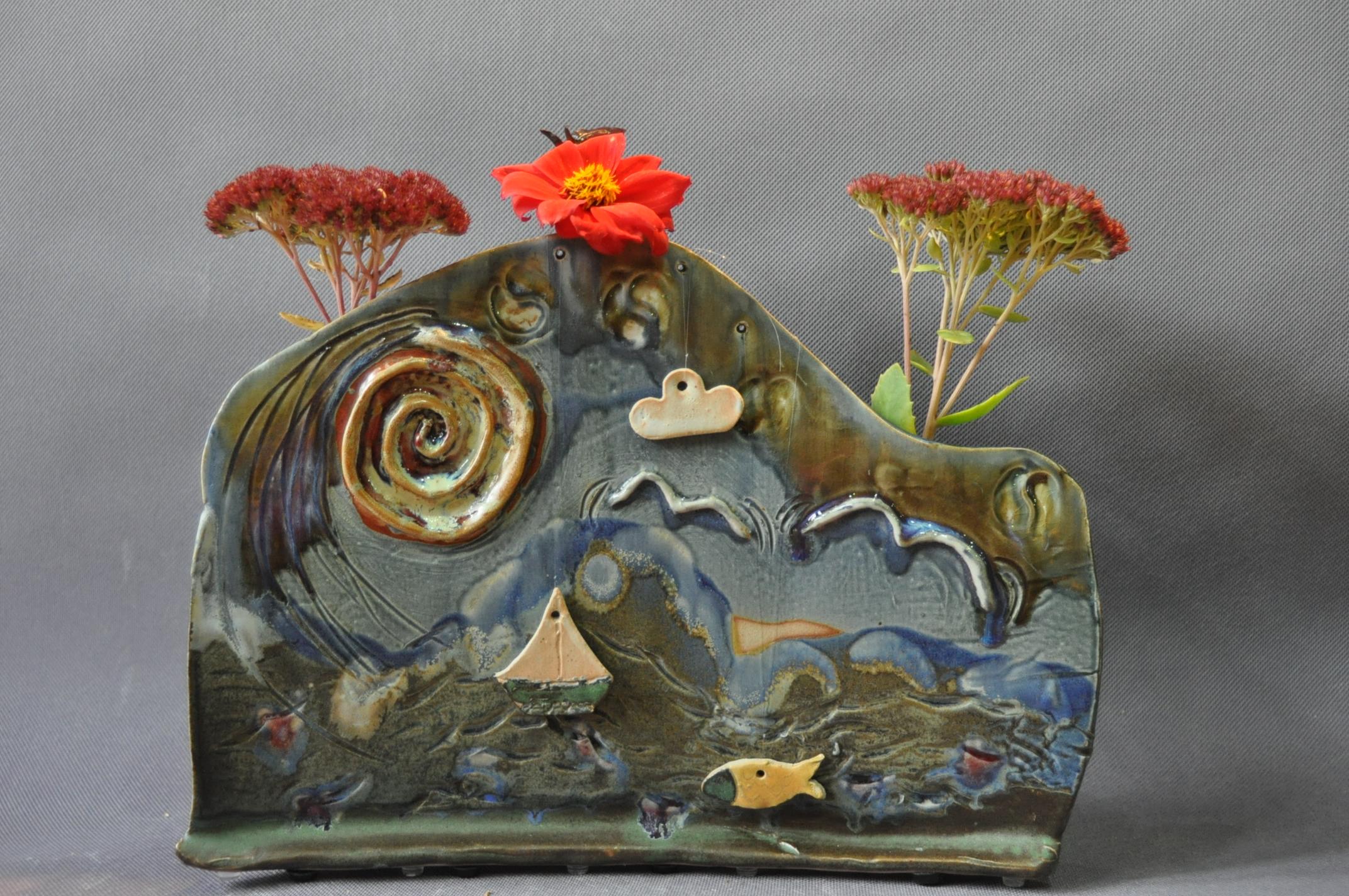 Landscape Vase.