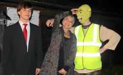 Jarryd, Katharina and Shrek