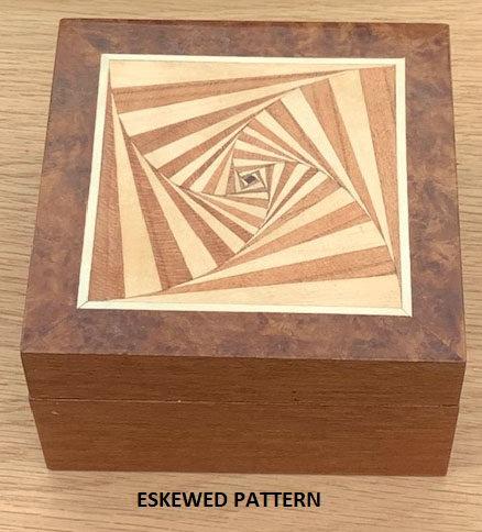 Eskewd Pattern - box by BEZEE