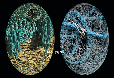 Fishing Net Eggs - Limited Edition Giclee print