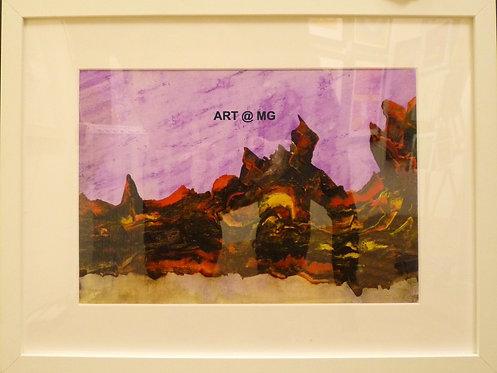 Molten Alien Landscape by Tony Clark.