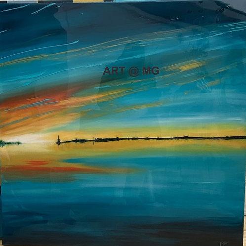 Beautiful Blue by Marilyn Comparetto FRSA