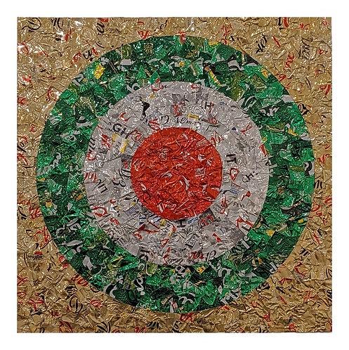 Pop Roundel (Green) By Martin Langston