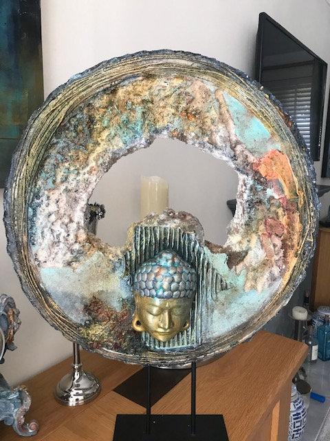 Buddha - 1 by Marianne Dorset