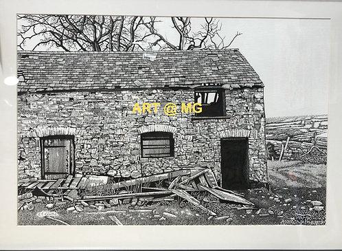 'The Derelic' near Ammanford, Black Mountain, Wales