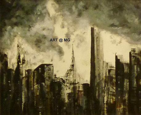 Hope - Acrylics on Canvas.