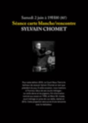 carte blanche Sylvain Chomet