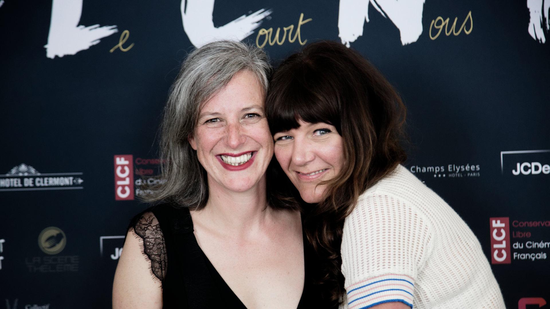Ingrid Heiderscheidt et Julie Carrière