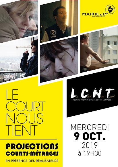 Programme soirée Le Court Nous Tient - F